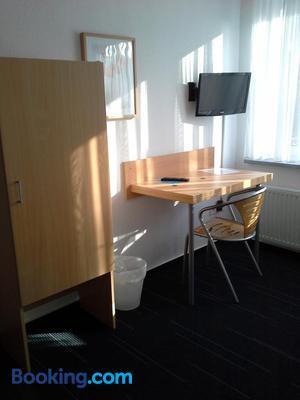Stadthotel Espelkamp - Espelkamp-Mittwald - Dining room