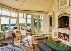 Sheen Falls Lodge - Kenmare - Wohnzimmer