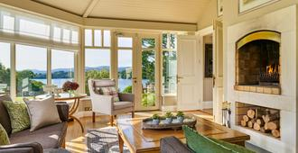 Sheen Falls Lodge - Kenmare - Living room