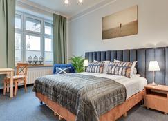 Lion Apartments - Sopockie Klimaty - Sopot - Yatak Odası