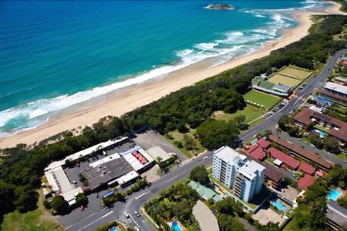 Park Beach Hotel Motel - Coffs Harbour - Außenansicht