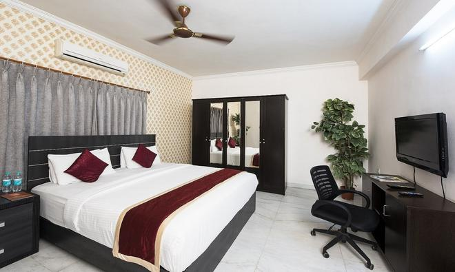 At Home Apartment Hotel - Hyderabad - Κρεβατοκάμαρα