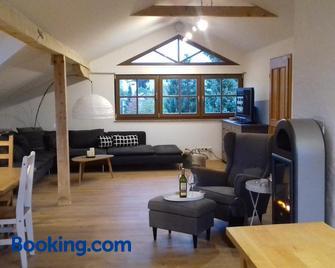 Ferienwohnung Wiesmühlstrasse - Henndorf am Wallersee - Living room
