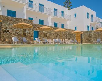 Ostria Hotel & Apartments - Gavrio - Pool
