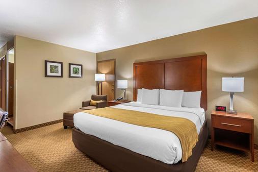 Comfort Inn & Suites Springfield I-44 - Springfield - Bedroom