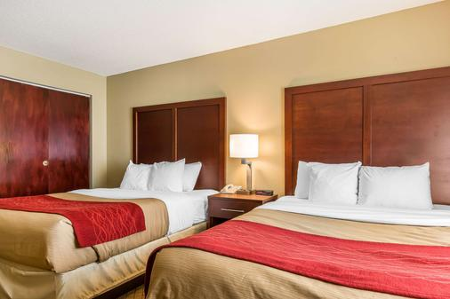 Comfort Inn and Suites South Bend - Mishawaka - Bedroom