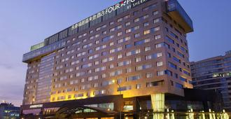 Four Points by Sheraton Beijing, Haidian Hotel & Serviced Apartments - Peking - Byggnad