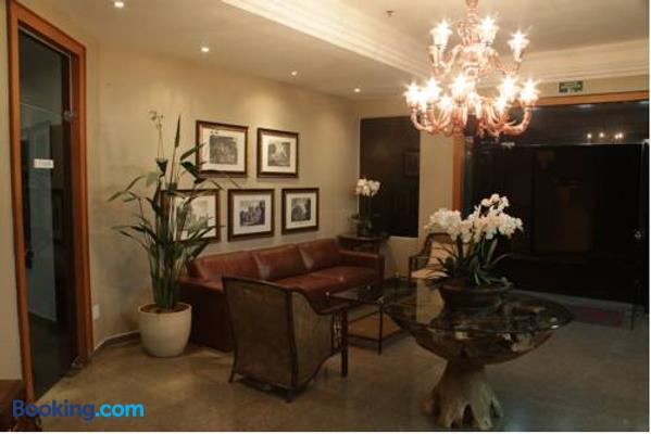 Hotel Kehdi Plaza - Barretos - Front desk