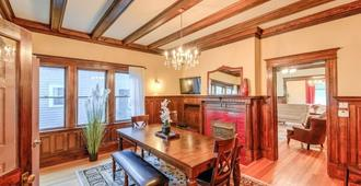 4brvictorian Mansionjust North Of Downtown - Colorado Springs - Dining room