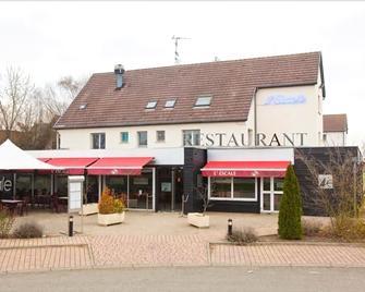 Hotel Restaurant L'Escale - Wingersheim-les-Quatre-Bans - Gebäude