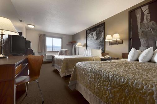 Super 8 by Wyndham Sioux Falls/41st Street - Sioux Falls - Phòng ngủ