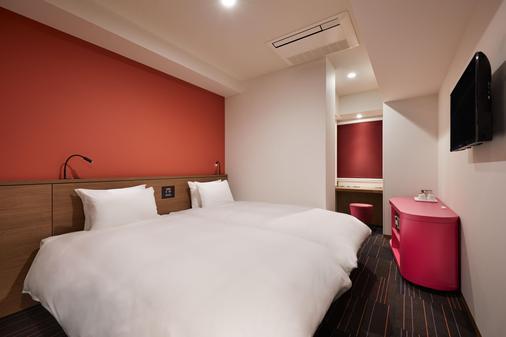 The b 東京新橋飯店 - 東京 - 臥室