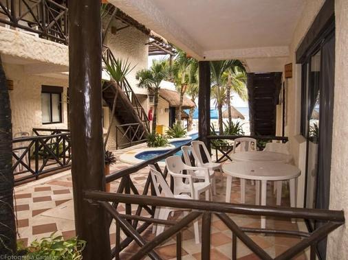 Hotel Mimi del Mar - Playa del Carmen - Βεράντα