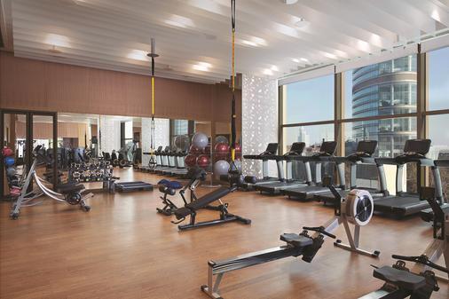 Shangri-La Hotel Nanjing - Nanjing - Fitnessbereich