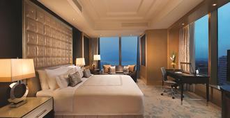 Shangri-La Nanjing - נאנז'ינג - חדר שינה