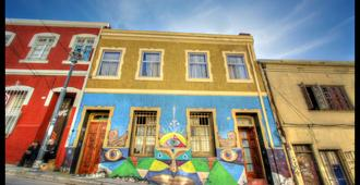Angel Hostal - Valparaíso - Building