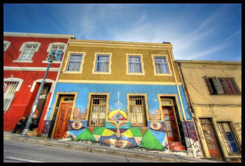 Angel Hostal - Valparaíso - Rakennus