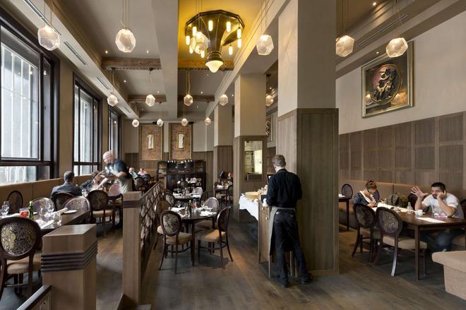 格蘭迪薩豪華宮殿酒店 - 布爾諾 - 布爾諾 - 餐廳