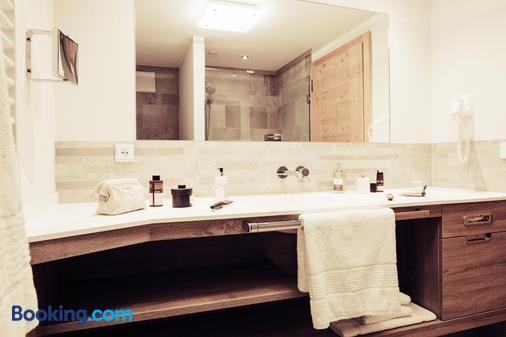 Biohotel Bergzeit - Zöblen - Bathroom