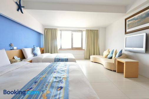 Hotel Ever Spring - Magong City - Bedroom