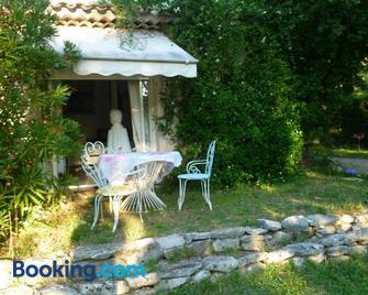 Villa Minouchka - Tourrettes-sur-Loup - Patio
