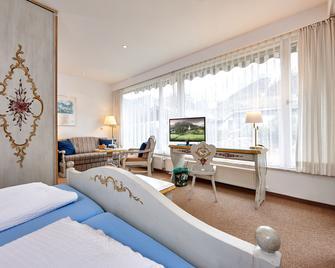 Hotel Bergland - Грайнау - Спальня