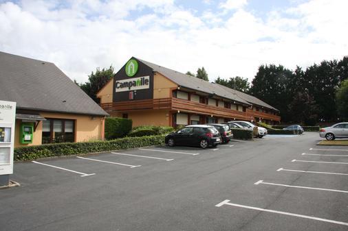 Hotel Campanile Honfleur - La Rivière Saint Sauveur - Ла-Ривьер-Сен-Совёр - Здание