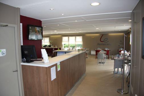 Hotel Campanile Honfleur - La Rivière Saint Sauveur - Ла-Ривьер-Сен-Совёр - Ресепшен