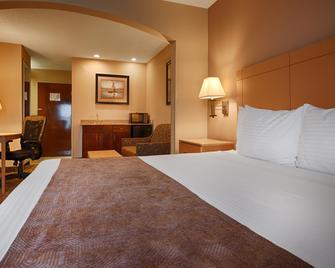 SureStay Plus Hotel by Best Western Roanoke Rapids I 95 - Roanoke Rapids - Schlafzimmer