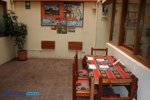 Picol Hostal - Cusco - Dining room