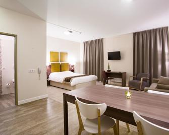 Kyriad Chambéry Centre - Curial - Шамбері - Bedroom