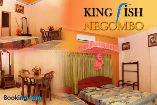 King Fish Guest House - Negombo - Bedroom