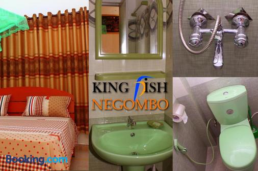 King Fish Guest House - Negombo - Bathroom