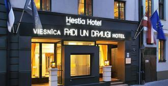 Hestia Hotel Draugi - ריגה - בניין