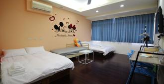 Movie Inn Hostel - Taichung - Habitación