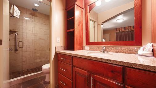 Best Western Driftwood Inn - Idaho Falls - Phòng tắm