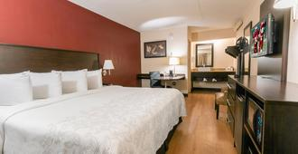 Red Roof Inn Plus+ Chicago - Naperville - Naperville - Bedroom