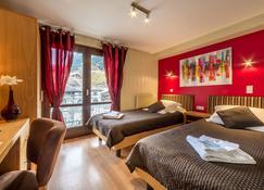 Hotel Rhodos Morzine - Morzine - Slaapkamer