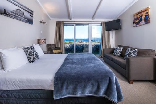 Twin Peaks Lakeside Inn - Taupo - Bedroom