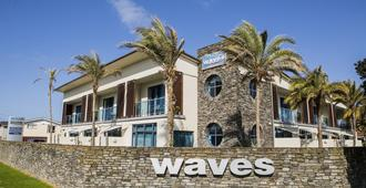Waves Motel - Auckland - Gebouw