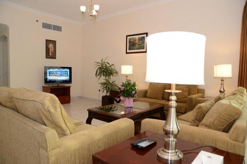 傳統酒店公寓 - 杜拜 - 杜拜 - 客廳