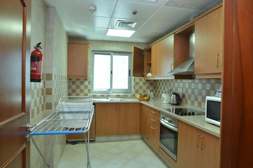 傳統酒店公寓 - 杜拜 - 杜拜 - 廚房