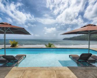 Pagua Bay House Oceanfront Cabanas - Меріґот - Басейн