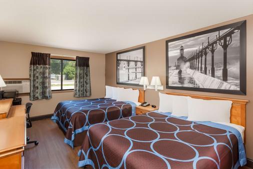 Super 8 by Wyndham Elkhart - Elkhart - Bedroom