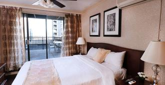 Riviera on Robson Suites Hotel Downtown Vancouver - Vancouver - Schlafzimmer