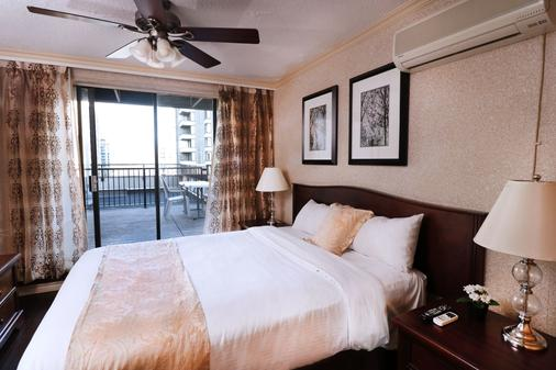 Riviera on Robson Suites Hotel Downtown Vancouver - Vancouver - Bedroom