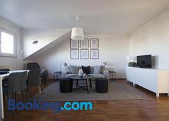 Capital Flat 70m2 - Luxembourg - Living room