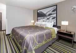 Super 8 by Wyndham Kalispell Glacier National Park - Kalispell - Phòng ngủ