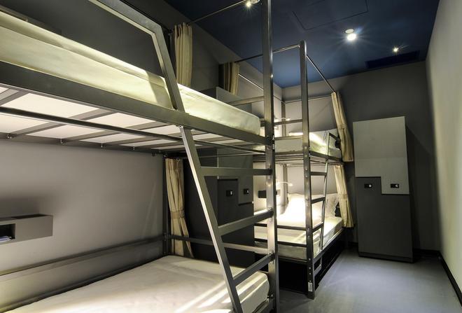 太空艙衡陽館 - 台北 - 臥室