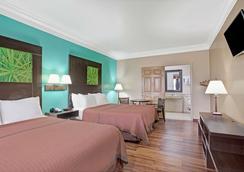 加爾維斯敦速 8 酒店 - 加耳維斯敦 - 加爾維斯敦 - 臥室